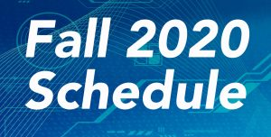 namcs fall 2020 schedule